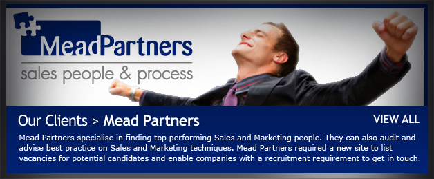 New Web Design for Mead Partners